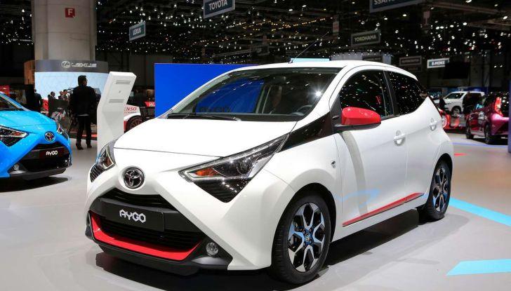 Nuova Toyota Aygo 2018, passi avanti in stile e tecnologia - Foto 6 di 18