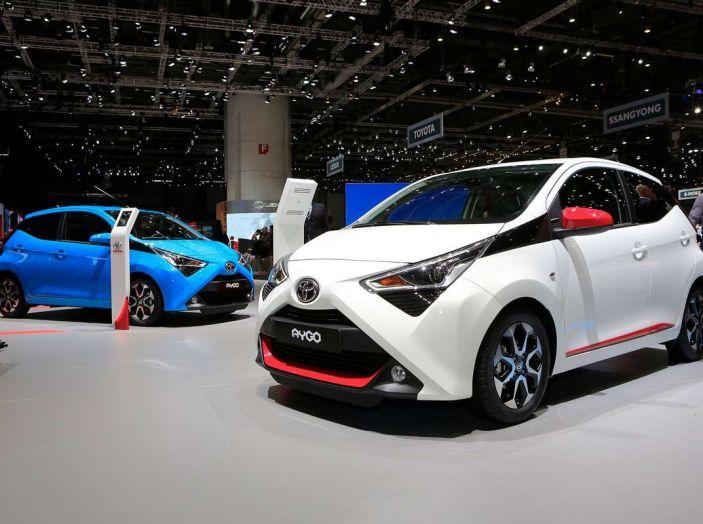 Nuova Toyota Aygo 2018, passi avanti in stile e tecnologia - Foto 7 di 18