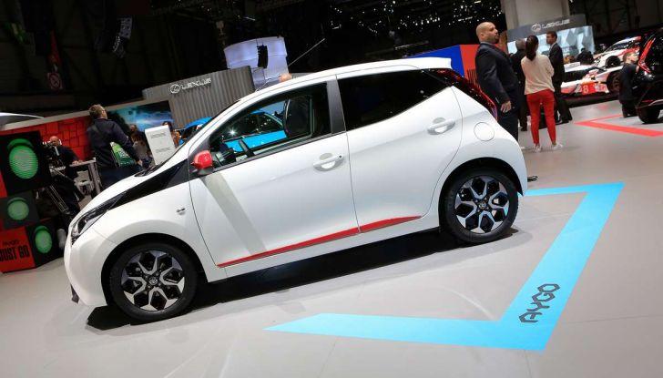 Nuova Toyota Aygo 2018, passi avanti in stile e tecnologia - Foto 8 di 18