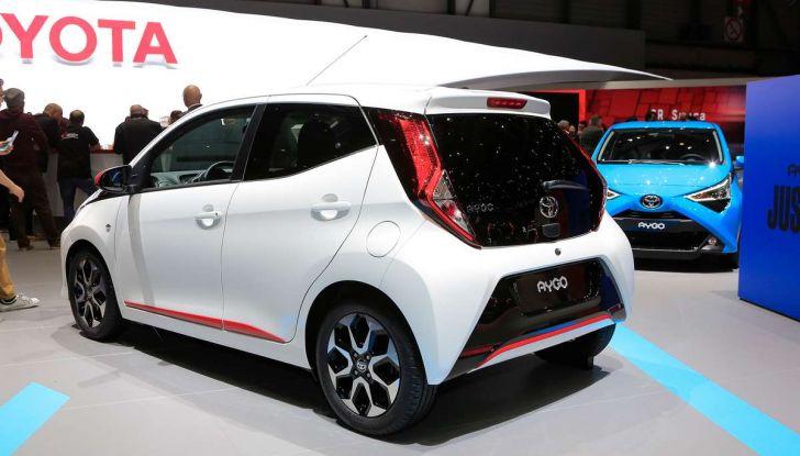 Nuova Toyota Aygo 2018, passi avanti in stile e tecnologia - Foto 10 di 18