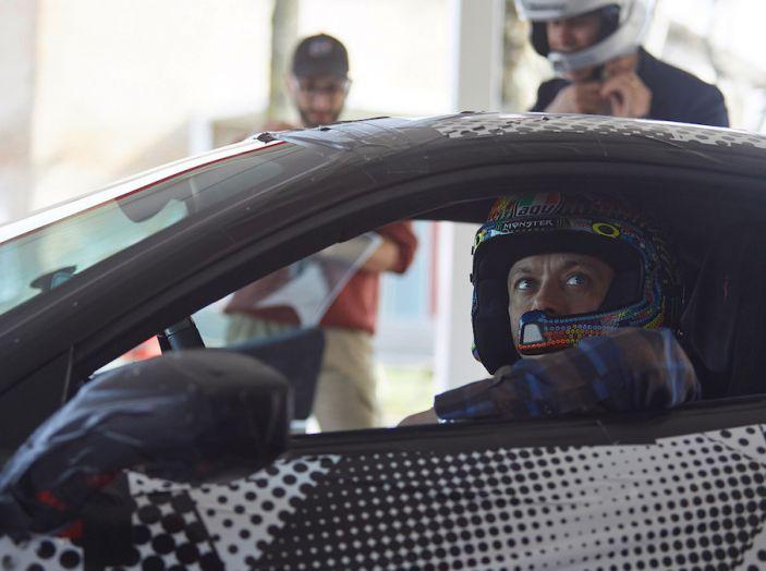 Valentino Rossi tester a Fiorano con la Ferrari 488 Pista - Foto 7 di 7