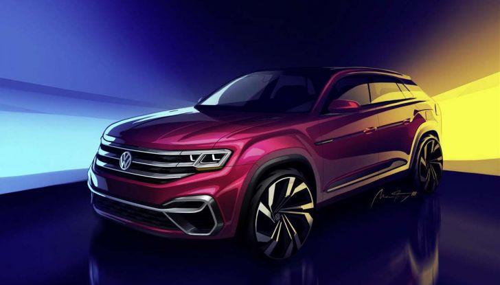 Volkswagen Atlas, il nuovo SUV che amplia la gamma VW - Foto 1 di 4