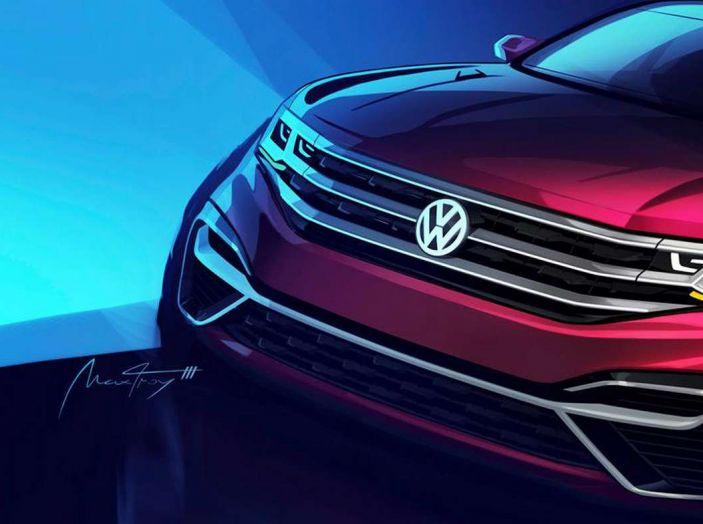 Volkswagen Atlas, il nuovo SUV che amplia la gamma VW - Foto 3 di 4
