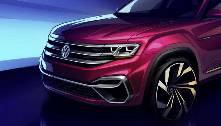 Volkswagen Atlas, il nuovo SUV che amplia la gamma VW - Foto 4 di 4