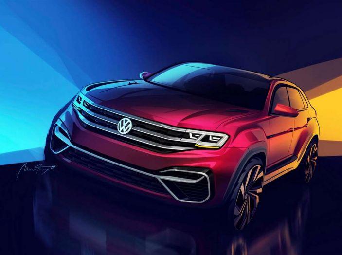 Volkswagen Atlas, il nuovo SUV che amplia la gamma VW - Foto 2 di 4