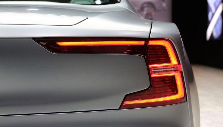 Polestar 1, l'ibrida da 600CV di Volvo per il premium ad alte prestazioni - Foto 11 di 19