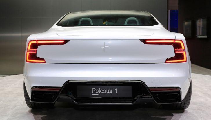 Polestar 1, l'ibrida da 600CV di Volvo per il premium ad alte prestazioni - Foto 13 di 19