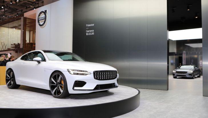 Polestar 1, l'ibrida da 600CV di Volvo per il premium ad alte prestazioni - Foto 15 di 19