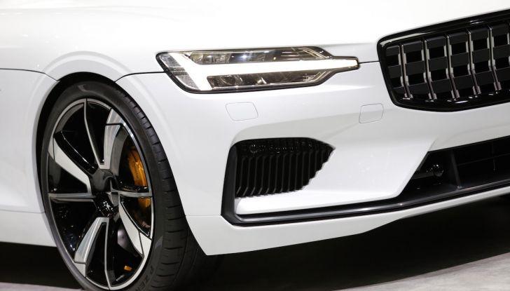 Polestar 1, l'ibrida da 600CV di Volvo per il premium ad alte prestazioni - Foto 16 di 19