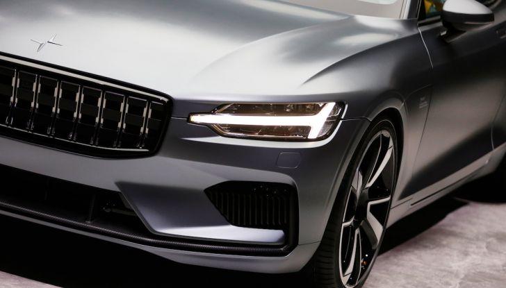 Polestar 1, l'ibrida da 600CV di Volvo per il premium ad alte prestazioni - Foto 18 di 19