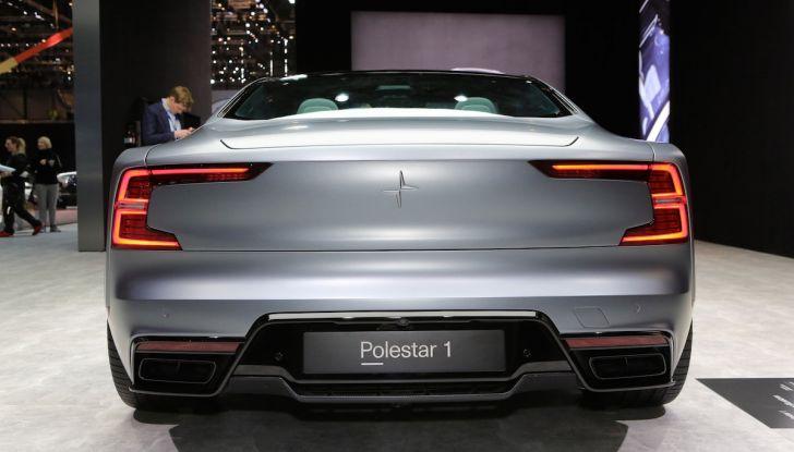 Polestar 1, l'ibrida da 600CV di Volvo per il premium ad alte prestazioni - Foto 6 di 19