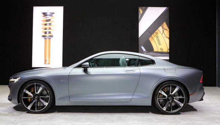 Polestar 1, l'ibrida da 600CV di Volvo per il premium ad alte prestazioni - Foto 7 di 19