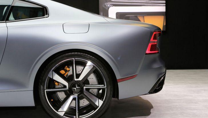 Polestar 1, l'ibrida da 600CV di Volvo per il premium ad alte prestazioni - Foto 8 di 19