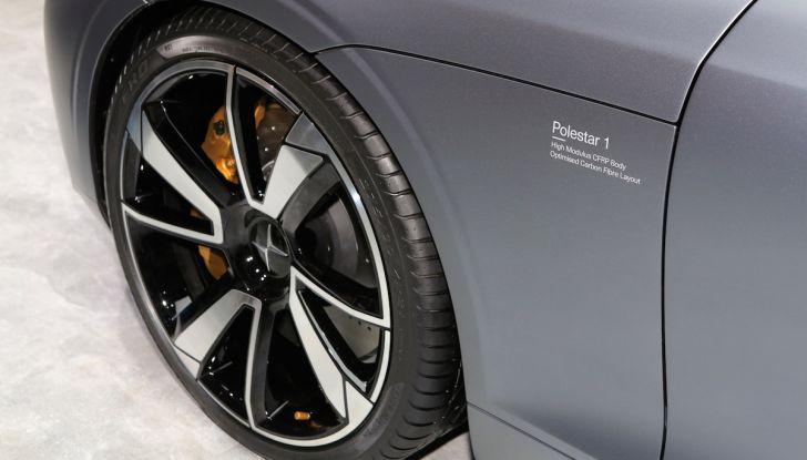 Polestar 1, l'ibrida da 600CV di Volvo per il premium ad alte prestazioni - Foto 9 di 19