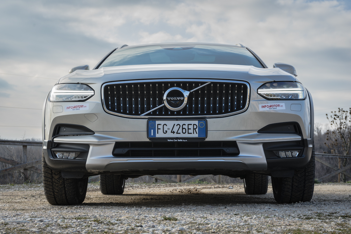 Volvo V90 Cross Country frontale
