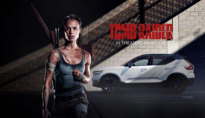 Volvo XC40 protagonista in Tomb Raider con Lara Croft