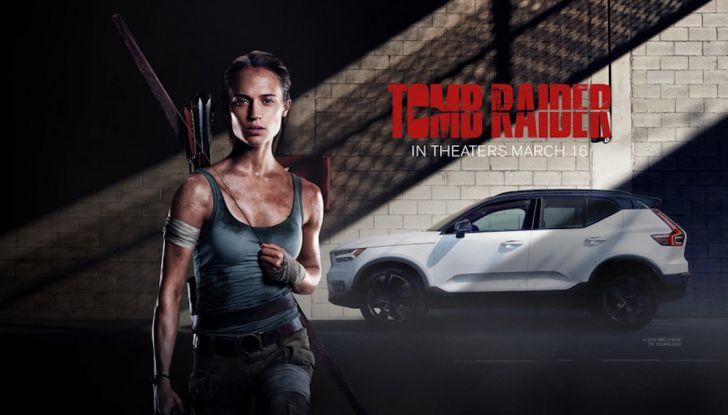 Volvo XC40 protagonista in Tomb Raider con Lara Croft - Foto 2 di 5