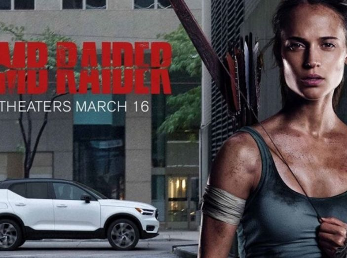 Volvo XC40 protagonista in Tomb Raider con Lara Croft - Foto 1 di 5