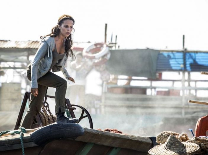 Volvo XC40 protagonista in Tomb Raider con Lara Croft - Foto 5 di 5