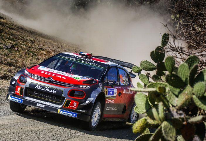 WRC Messico 2018 – Giorno 1: grande risultato per Loeb con la sua C3 WRC al secondo posto - Foto 3 di 6