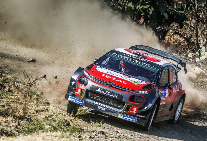 WRC Messico 2018 – Giorno 1: grande risultato per Loeb con la sua C3 WRC al secondo posto - Foto 4 di 6