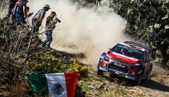 WRC Messico 2018 – Giorno 1: grande risultato per Loeb con la sua C3 WRC al secondo posto - Foto 5 di 6