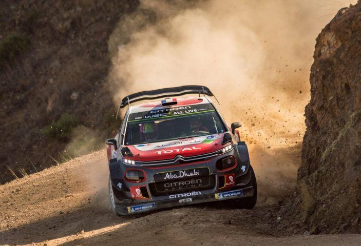 WRC Messico – Giorno 2: Kris Meeke in lizza per il podio con la sua C3 WRC - Foto 1 di 2