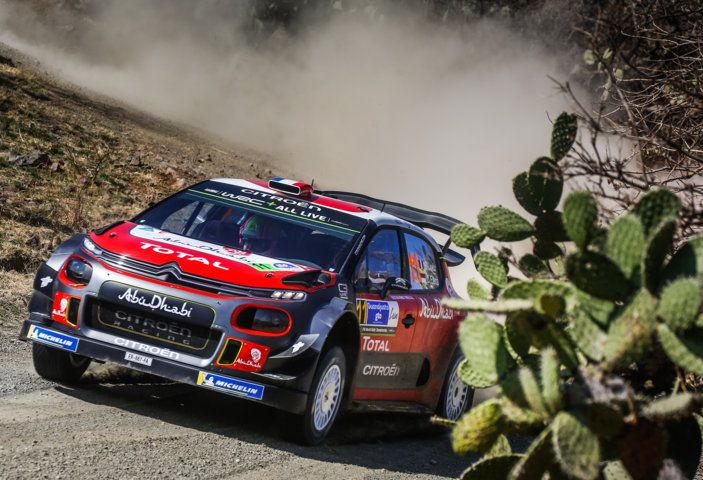 WRC Messico 2018: il team Citroën punta in alto - Foto 2 di 4