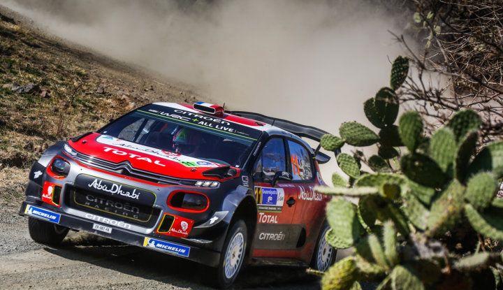 WRC Messico 2018: il team Citroën punta in alto - Foto 2 di 4