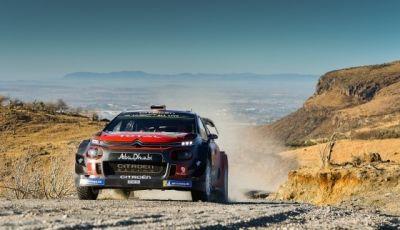 WRC Messico - Giorno 3: secondo podio consecutivo per la Citroën C3 WRC