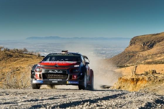WRC Messico – Giorno 3: secondo podio consecutivo per la Citroën C3 WRC - Foto 1 di 6