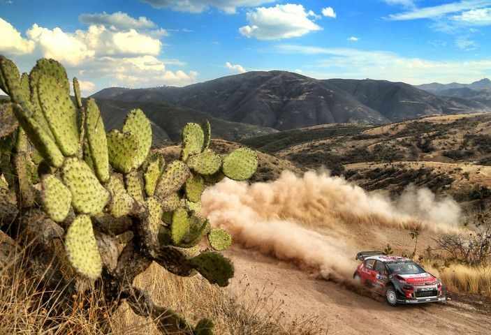 WRC Messico 2018: il team Citroën punta in alto - Foto 1 di 4