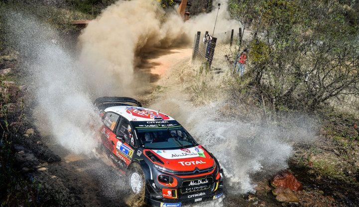 WRC Messico 2018- shakedown: il ritmo giusto per le C3 WRC - Foto 3 di 4