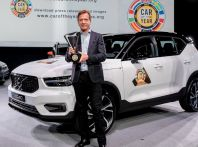 Volvo XC40 è Car of The Year 2018, è la prima volta del marchio svedese