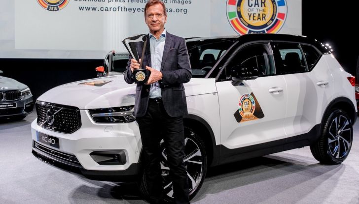 Volvo XC40 è Car of The Year 2018, è la prima volta del marchio svedese - Foto 1 di 38
