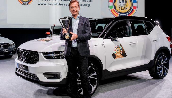 Volvo XC40: nel 2020 arriva la versione 100% elettrica - Foto 1 di 38