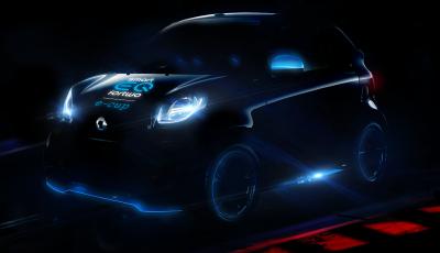Smart EQ ForTwo e-Cup: parte il trofeo con le piccole sportive da 750Kg