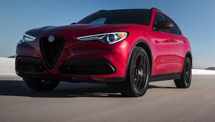 Alfa Romeo, arrivano Giulia e Stelvio in Nero Edizione - Foto 3 di 9