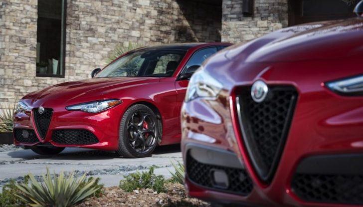 Alfa Romeo, arrivano Giulia e Stelvio in Nero Edizione - Foto 1 di 9