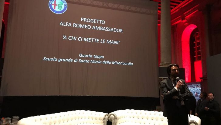 Alfa Romeo Stelvio Quadrifoglio, ultima tappa a Venezia con la chef Klugman - Foto 13 di 16