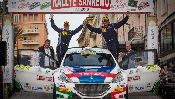 Andreucci (Peugeot Sport Italia) vince a Sanremo ed è record - Foto 2 di 3