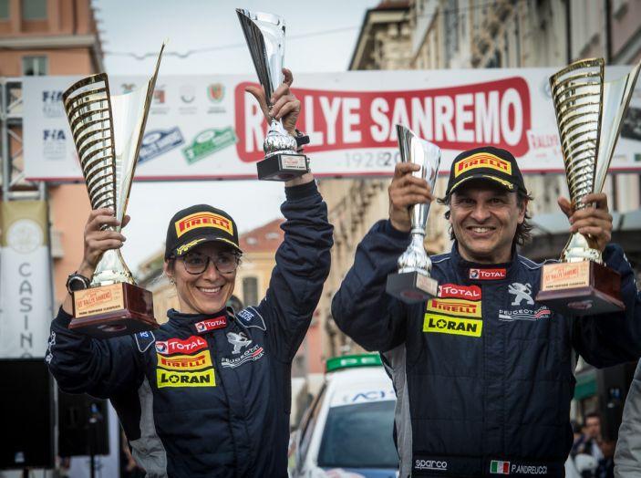 Paolo Andreucci (Peugeot Sport Italia) soddisfatto della gara ligure - Foto 1 di 1