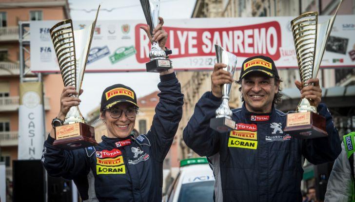Paolo Andreucci (Peugeot Sport Italia) soddisfatto della gara ligure - Foto  di