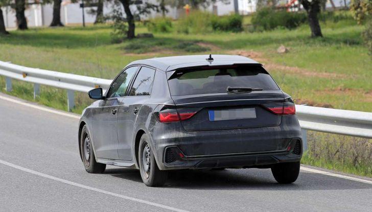 Audi A1 2018, la seconda generazione quasi pronta al debutto - Foto 4 di 13