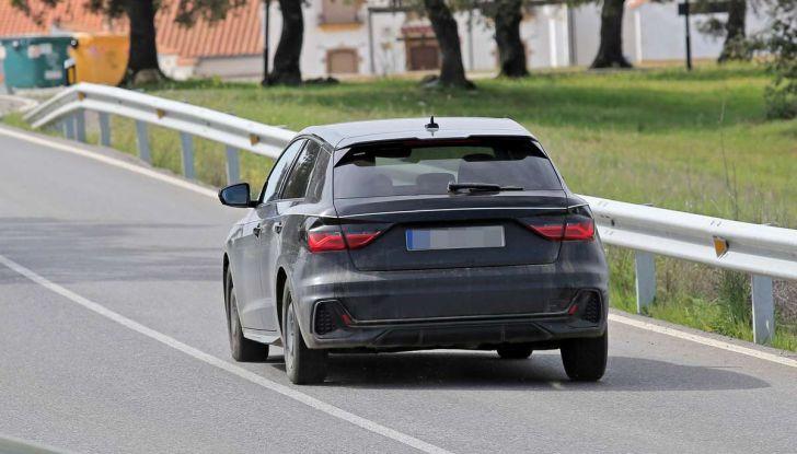 Audi A1 2018, la seconda generazione quasi pronta al debutto - Foto 12 di 13