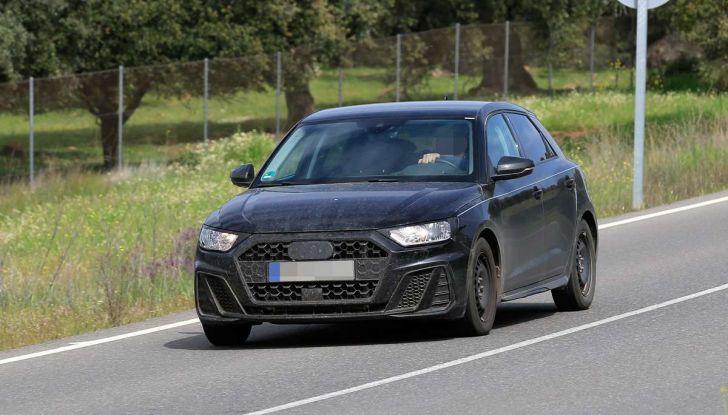 Audi A1 2018, la seconda generazione quasi pronta al debutto - Foto 3 di 13