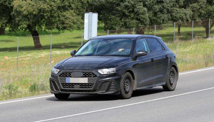 Audi A1 2018, la seconda generazione quasi pronta al debutto - Foto 5 di 13