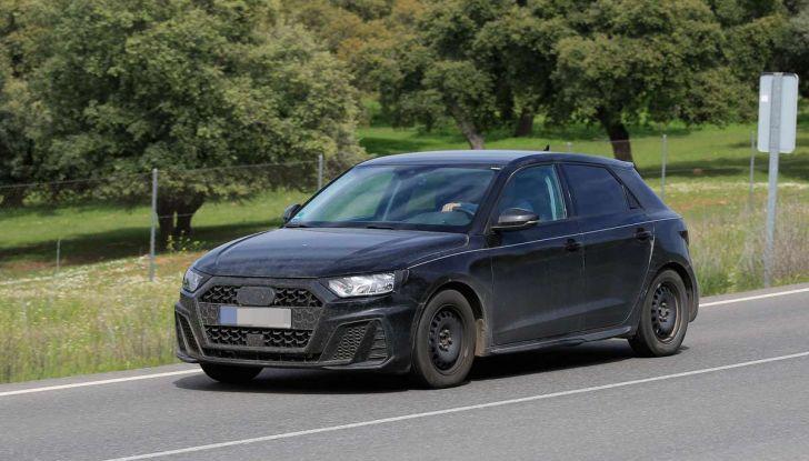 Audi A1 2018, la seconda generazione quasi pronta al debutto - Foto 6 di 13