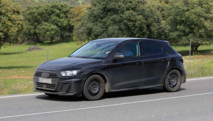 Audi A1 2018, la seconda generazione quasi pronta al debutto - Foto 1 di 13