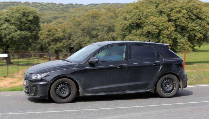 Audi A1 2018, la seconda generazione quasi pronta al debutto - Foto 8 di 13